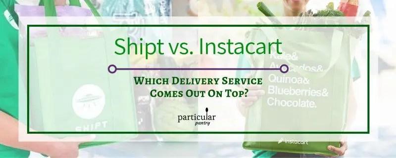 Shipt vs. Instacart