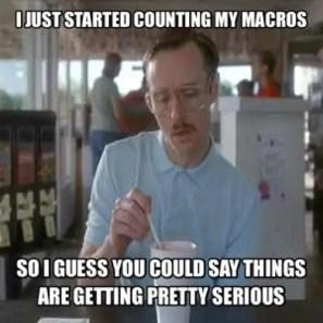 counting macros meme