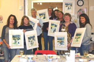 Paint and Sip with Jeanne (on going)