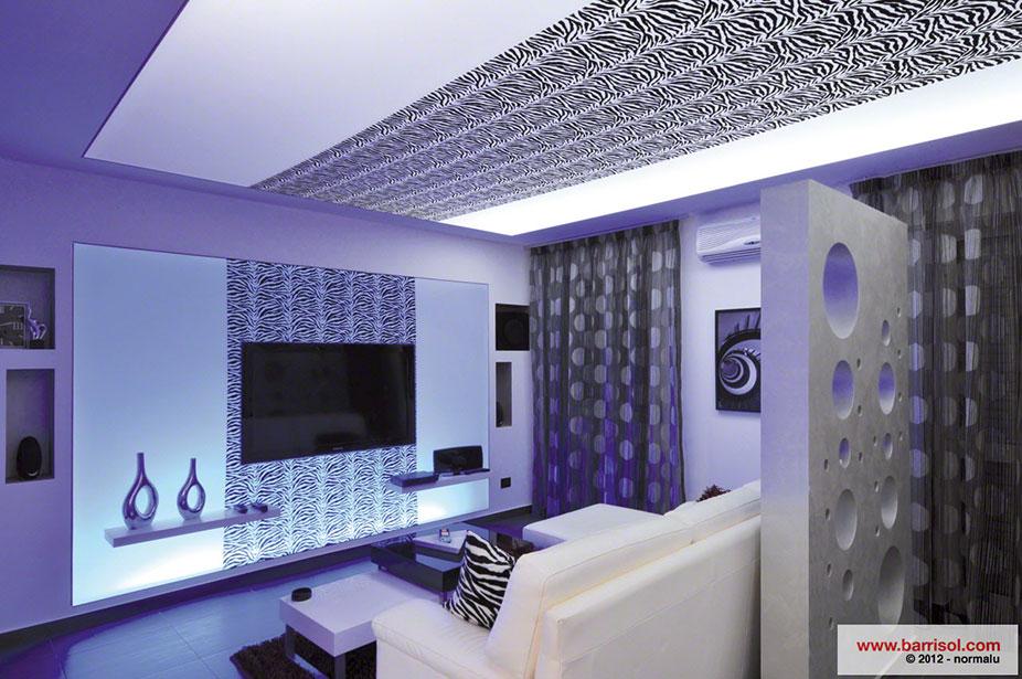 Ides De Dcoration Avec Le Plafond Tendu Barrisol