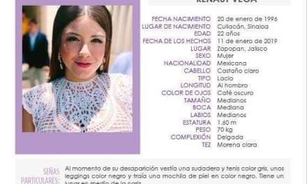 Localizan con vida a hija de exsubprocurador de justicia de Sinaloa