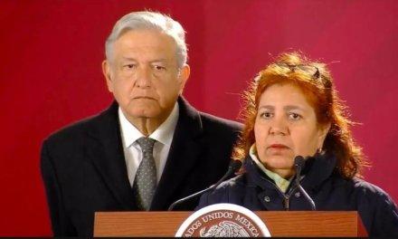 Viuda del periodista Javier Valdez exige justicia ante AMLO