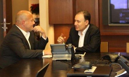 Alfaro pide a Durazo intervención de fuerzas federales en la región Altos de Jalisco