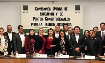Comisiones avalan nueva Reforma Educativa