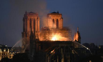 Incendio en Notre Dame: estructura está a salvo