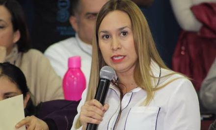 Diputada de Morena ligada con Abisalud restringirá declaración patrimonial