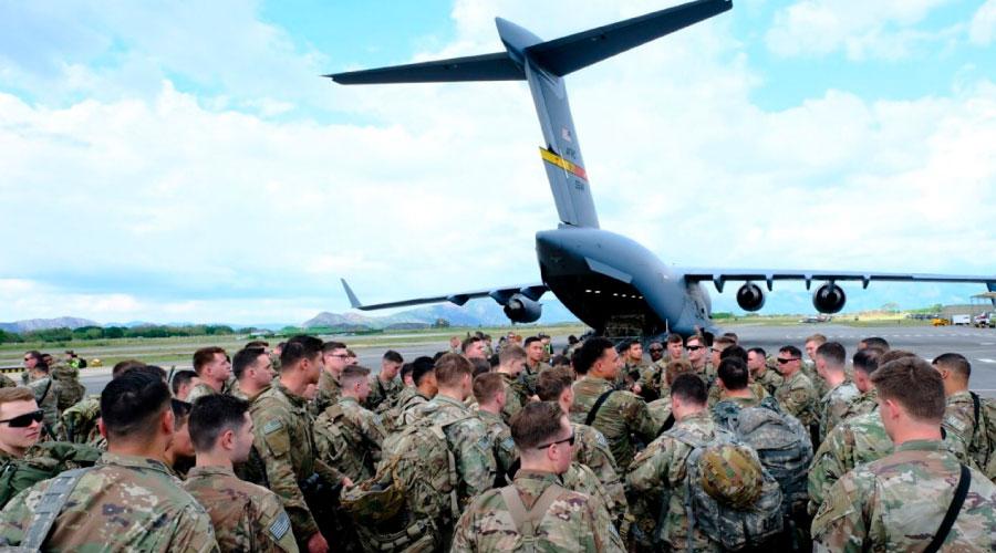 Rechazo a tropas gringas en el país