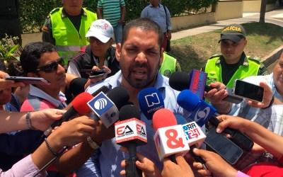 Solidaridad con la familia Santodomingo, castigo a los responsables del asesinato del abogado Oscar.