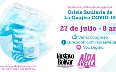 Audiencia pública de emergencia: en La Guajira Las EPS no actúan como deben