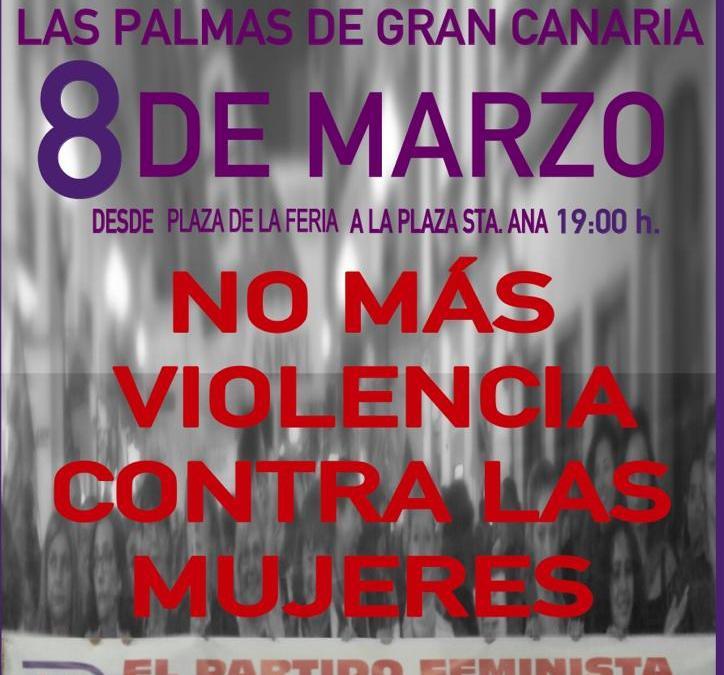 8 de Marzo – Manifestación Las Palmas de Gran Canaria