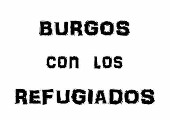 burgos con los refugiados