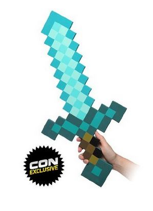 Minecraft Blue Diamond Sword