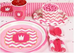 Pink Party Supplies 01