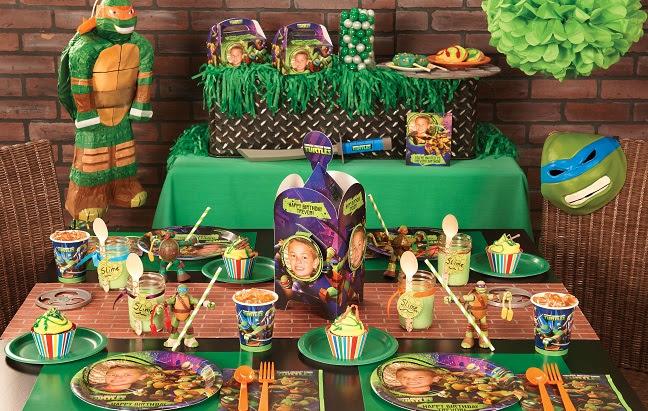 Party Supplies Teenage Mutant Ninja Turtles Birthday Party Tableware Decorations Supplies Home Furniture Diy Etiqu In