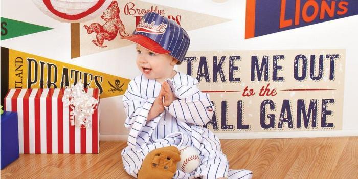 Baseball 1st Birthday Theme 02