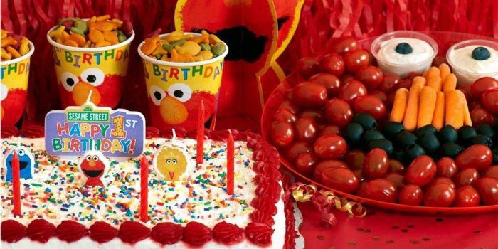 Elmo 1st Birthday Theme