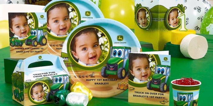 Johnny Tractor 1st Birthday Theme