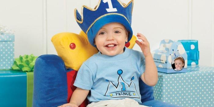Lil prince boy first birthday theme 02