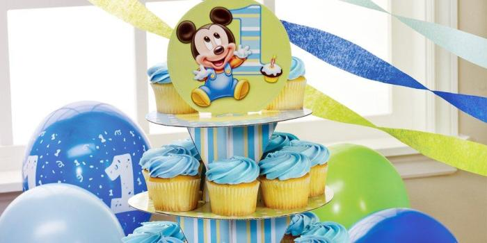 Mickey's First Birthday Party Theme 02