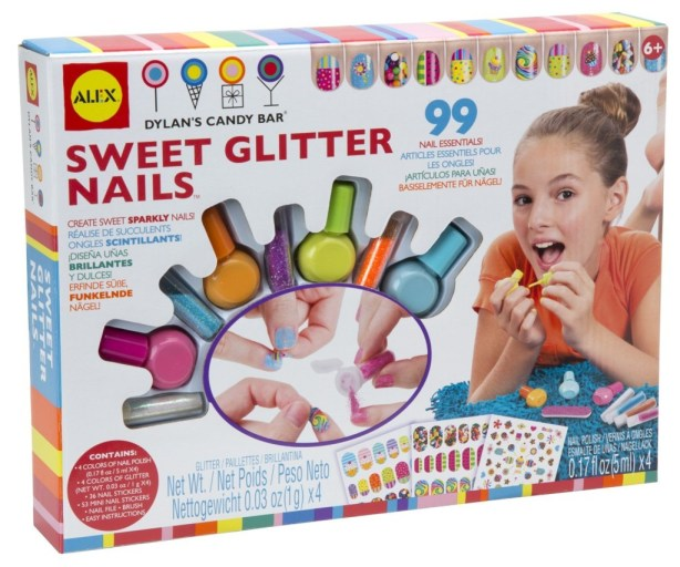 Sweet Glitter Nails Alex Toys, Girls Spa Party Ideas