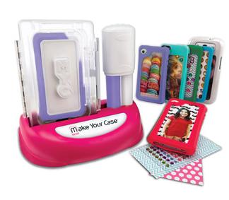 Make Your Own Cell Case Maker, cell phone case maker, gift idea for girls
