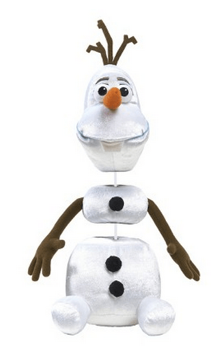 Disney Frozen Pull Apart and Talkin' Plush Olaf