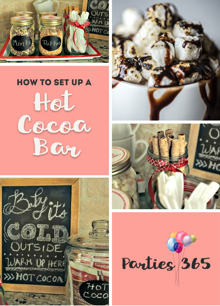 What's better than hot chocolate over the holidays? Here's everything you need to setup a Hot Cocoa Bar in your home this winter. | Hot Cocoa Bar | Hot Chocolate Bar | Hot Chocolate