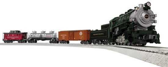 Lionel Pennsylvania Flyer O-Gauge Remote Train Set