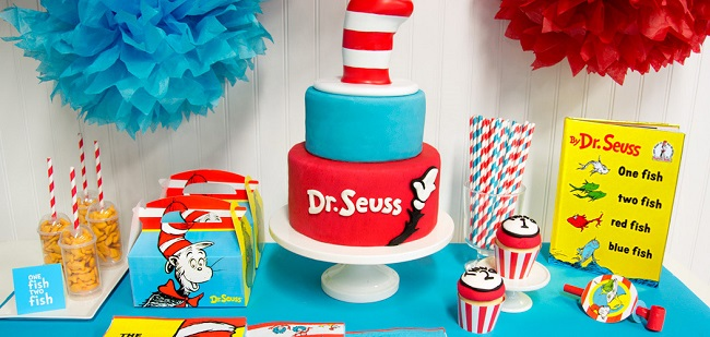 Dr Seuss Party Supplies
