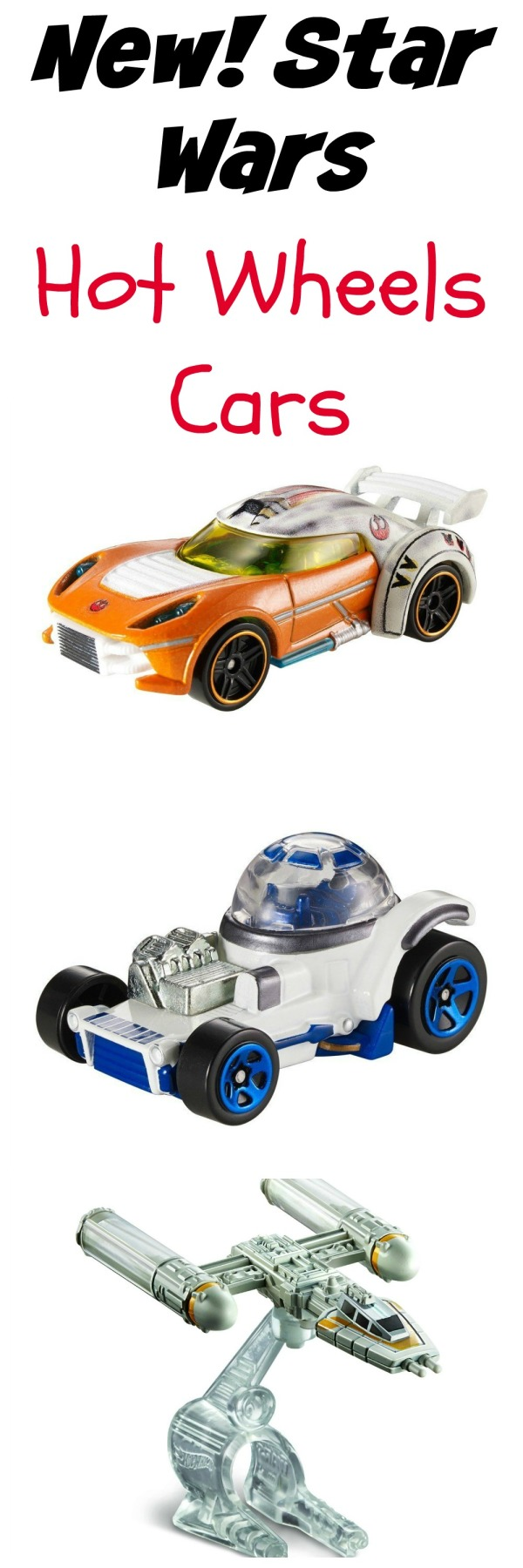 star wars hot wheels cars collage