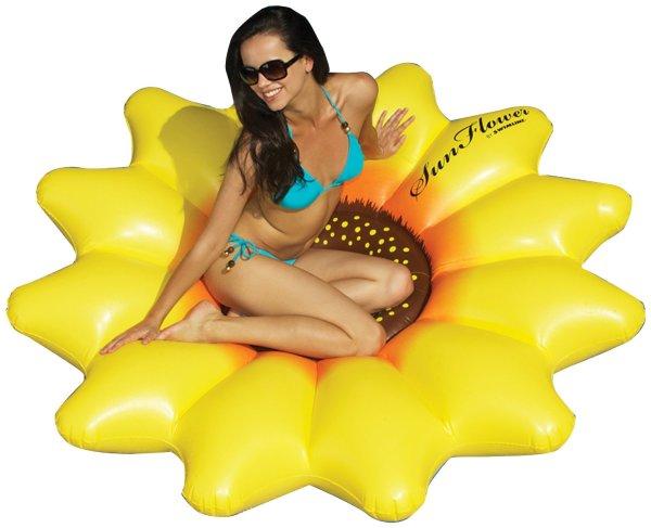 sunflower pool float