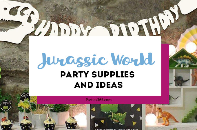 Jurassic World Party Ideas and Supplies