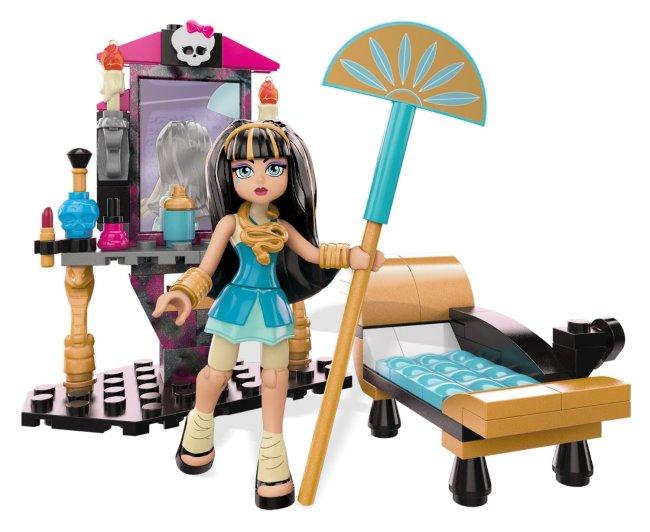 Mega Bloks Monster High Cleo's Gore-geous Vanity Playset-01