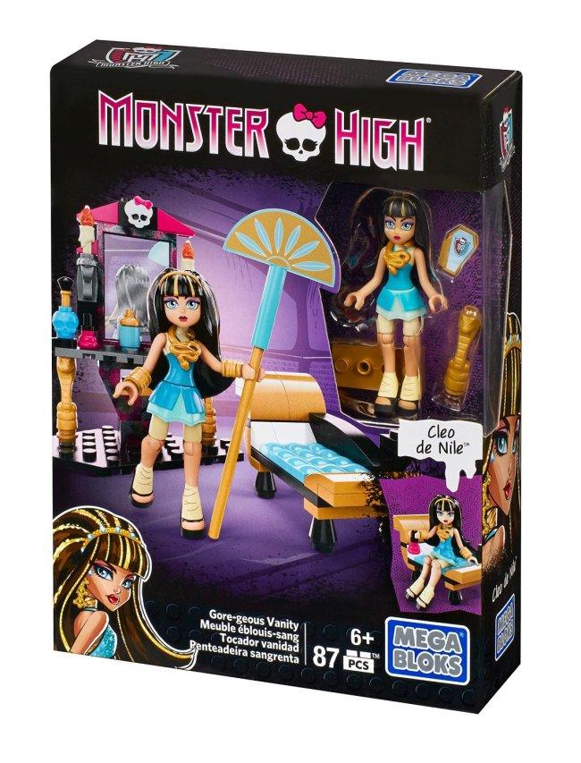Mega Bloks Monster High Cleo's Gore-geous Vanity Playset