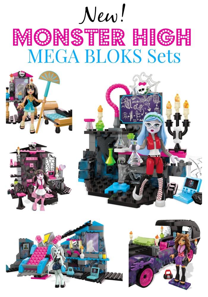 Monster High Mega Bloks Sets-02