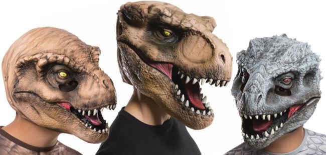 Jurassic World Masks