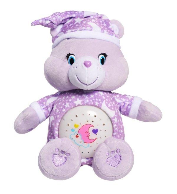 Care Bears Sweet Dream Magic Night Light Bear Plush