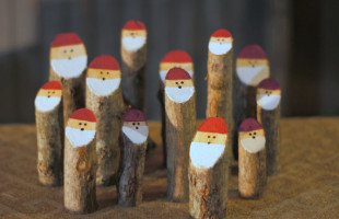 How to Make (or Buy) Santa Logs