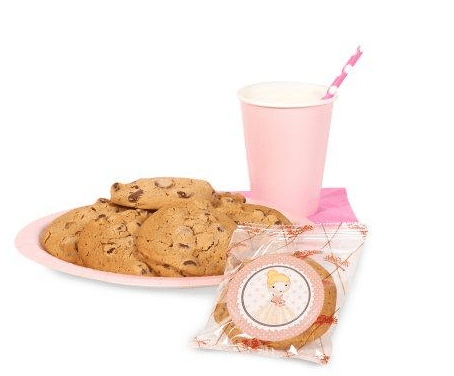 Ballerina tutu cookie favors