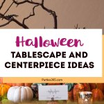 Spooky Halloween Tablescape and Centerpiece Ideas
