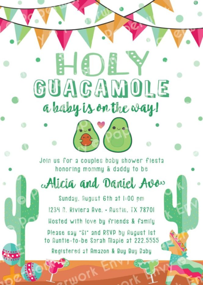 Incredible Ideas For A Baby Shower Fiesta Parties365