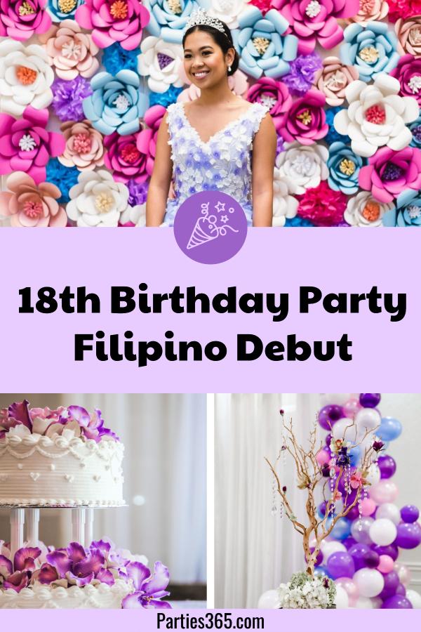 traditional filipino 18th birthday