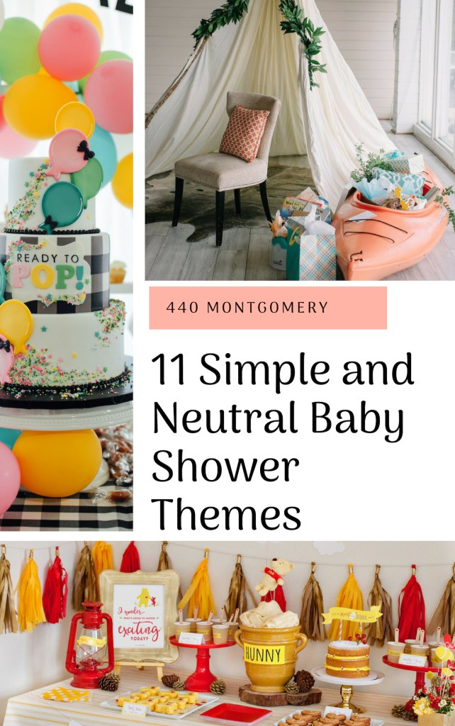 11 Simple and Neutral Baby Shower Theme Ideas