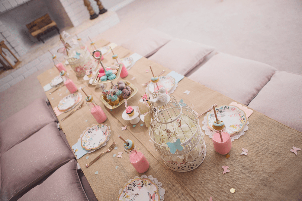 15 Girly Birthday Theme Ideas for Little Girls : Fairy Party