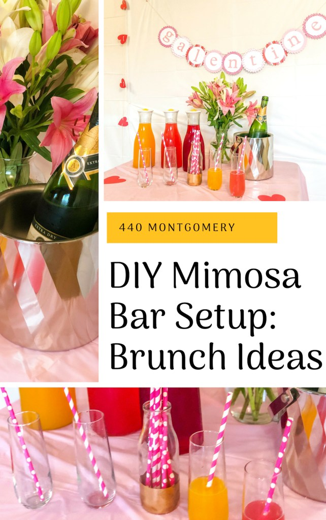 DIY Mimosa Bar Setup: Brunch Ideas