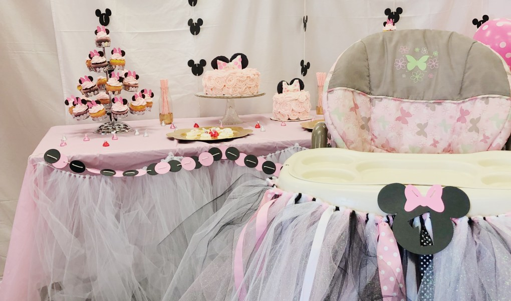 Diy 1st Birthday Minnie Mouse Party Parties By Tanea