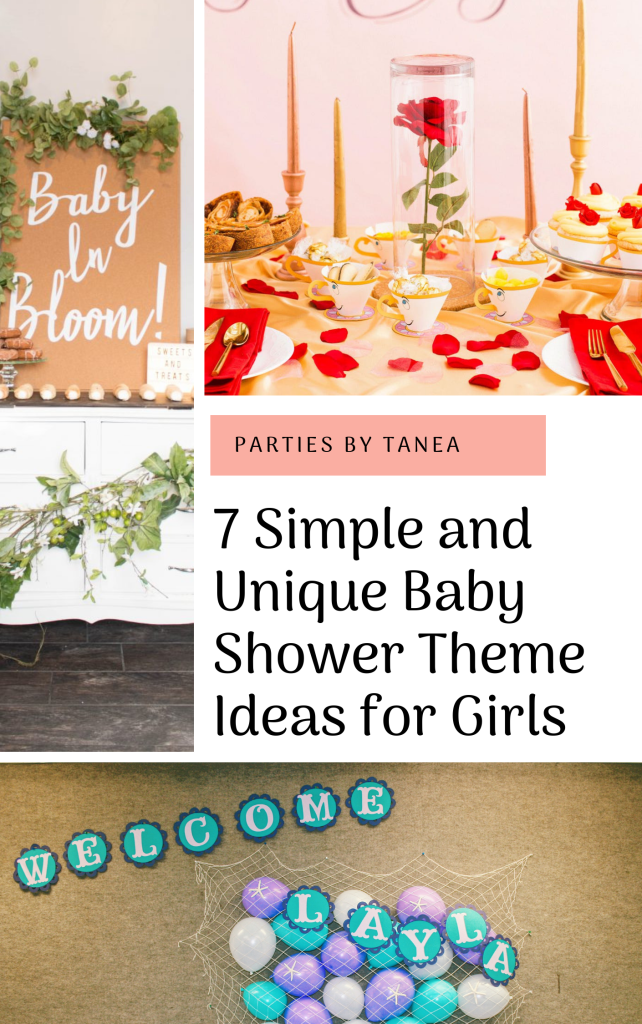 Baby Shower Theme Ideas For Girls 7 Simple Themes Parties By Tanea