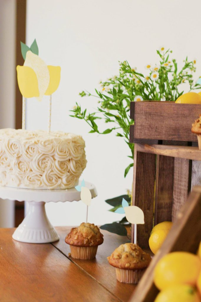 A Little Lemon - Summer Baby Shower Themes