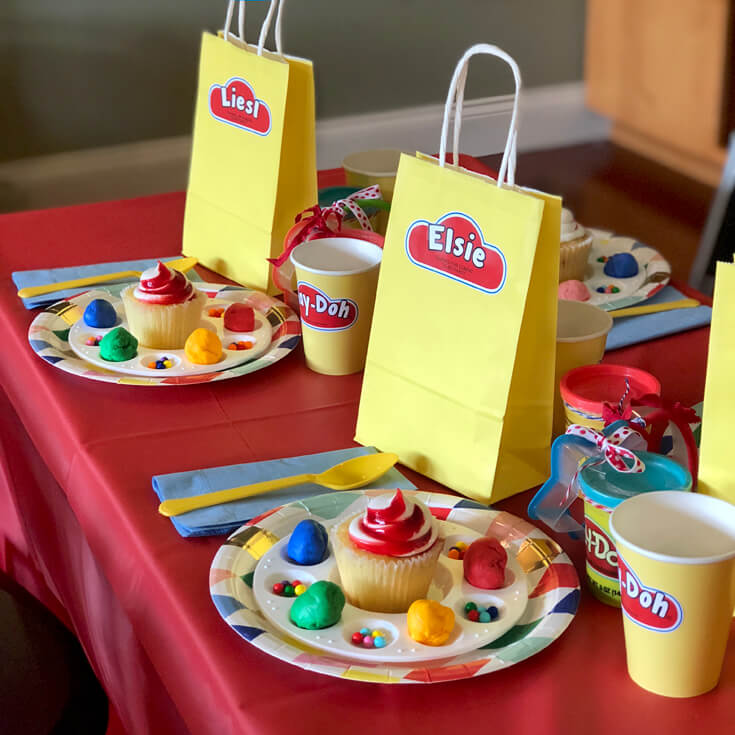 Simple Play Doh Birthday Party Ideas Parties With A Cause