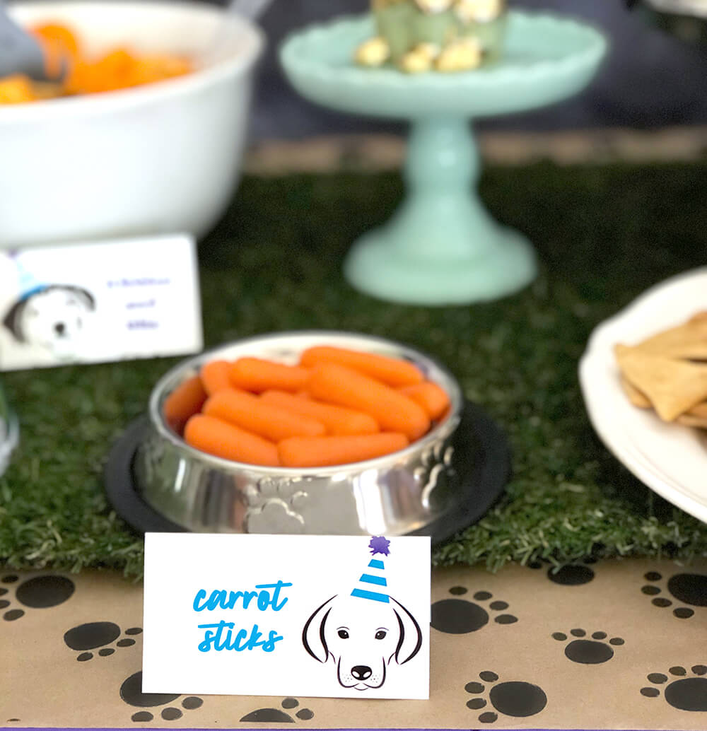 21 Puppy Themed Birthday Party Food Ideas Parties With A Cause